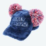 TDR Mickey Mouse Pom Pom Hat Cap Navy