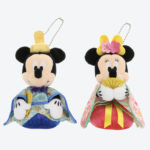 TDR HINAMATSURI Mickey and Minnie Plush Badge