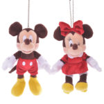 DSJ Valentine 2020 Mickey and Minnie Plush Badge