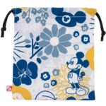 TDR Japanese Flower Design Drawstring Pouch