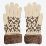 TDR Mickey Mouse Gloves Beige for Adult