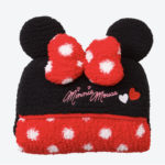 TDR Minnie Mouse Blanket Black and Red