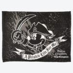 TDR Mickey Mouse the pirates of the Caribbean Blanket