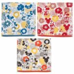 TDR Japanese Flower Design Mini Towel Set