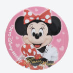 TDR Minnie Mouse Photo Tin Badge