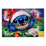 DSJ Merry Christmas Stitch Postcard