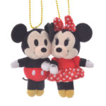DSJ Pair Plush Keychain / Keyholder Mickey and Minnie