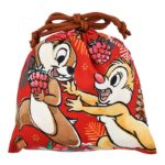 DSJ Holiday Drawstrings Pouch Chip and Dale
