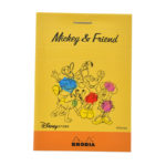 DSJ RHODIA Memo pads block memo No.11 Mickey and Friends