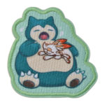 PCO Snorlax yawn Patch Sticker Snorlax and Scorbunny