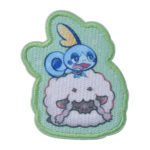PCO Snorlax yawn Patch Sticker Wooloo and Sobble