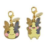 PCO HOPPE DAISHŪGO Morpeko Double side Metal Charms Set
