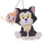DSJ Pinocchio 80th Figaro and Cleo Plush Badge