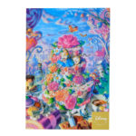 DSJ Sweets Garden Alice in Wonderland Postcard