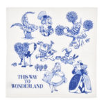 DSJ Dining Room Alice in Wonderland Kitchen towel