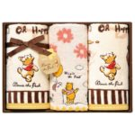 DSJ Winnie the Pooh Hand and Face towel set Chocolate