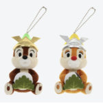 TDR Boys Festival Chip and Dale Plush Badge