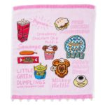TDR Pink Park Food Design Wash Towel