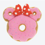TDR Minnie Mouse Donuts Die-Cut Cushion