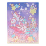 SRO Sanrio Characters A4 Clear Folder (Spangled)