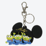 TDR Toy Story Alien / Little Green Men Andy Cap Design Keychain