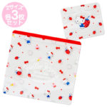 SRO Zipper Bag Hello Kitty Zipper Bag Set (strawberry)