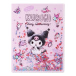 SRO Kuromi A4 Clear Folder (Spangled)