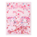 SRO My Melody A4 Clear Folder (Spangled)