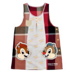 DSJ plaid Chip and Dale Apron