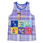 DSJ Plaid Toy Story 4 Apron