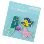 DSJ D.I.Wow ! Patch A initials Ariel and Flounder