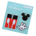 DSJ D.I.Wow ! Patch M initials Mickey