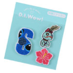 DSJ D.I.Wow ! Patch S initials Stitch and Scramp