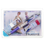 DSJ Frozen 2 Anna Elsa Olaf Stationery set with Post card