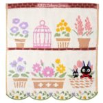 GHI Kiki's Delivery Service Jiji Favorite Flowers Wash Towel