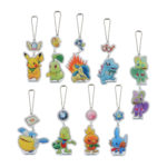 PCO Pokémon Mystery Dungeon Rescue Team A Acrylic Charm (Blinded box charm)