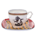 DSJ Art Collection Alice in Wonderland Small Coffee Cup Demitasse Cup (Queen of Heart)