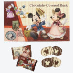 TDR Mickey and Friends Chocolatr Covered Rask (Paper Bag)