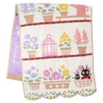 GHI Kiki's Delivery Service Jiji Favorite Flowers Face Towel