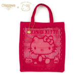 SRO Lace Eco bag / Shopping Bag Hello Kitty red