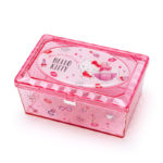 SRO Sparkling Clear Accessory Case / Storage Case Hello Kitty