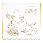 DSJ Scalloped Mini Hand Towel Winnie the Pooh 25x25cm