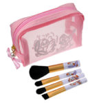 DSJ Makeup Brush Set with Pouch Chip and Dale