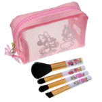 DSJ Makeup Brush Set with Pouch Minnie and Daisy