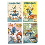 DSJ Donald Duck Birthday 2020 Clear file set Donald, Chip and Dale