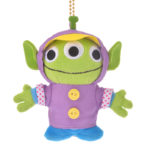 DSJ Rain Plush Keyholder / Keychain Little Green Men / Alien