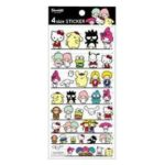 LOF 4 size Sticker Sanrio Characters Mix