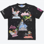 TDR Fantasy Land attractions T-Shirts S/M/L Japanese Adult Unisex