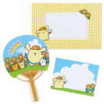SRO Summer Stationery 2020 Summer Card Bamboo fan PomPomPurin