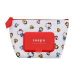 SRO Pouch with wet tissue pocket Hello Kitty